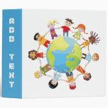 Carpeta: Los niños en todo el mundo unen para la p