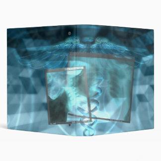 Carpeta médica de la radiografía