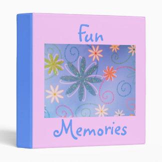 Carpeta Memoria-Floral del diseño de la diversión
