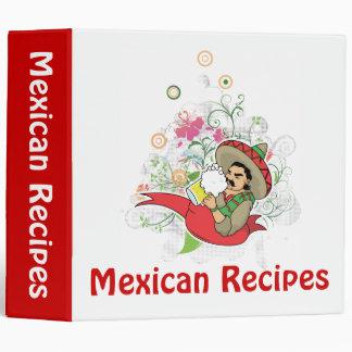 Carpeta mexicana de las recetas