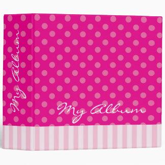 Carpeta mezclada del modelo de la moda rosada