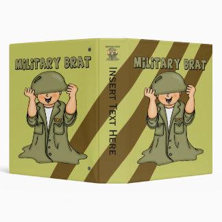 Carpeta militar de Avery del palo de golf