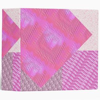 Carpeta modelada rosa