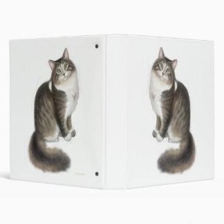 Carpeta mullida de Avery del gato de Duffy