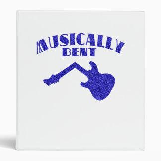 Carpeta musical doblada
