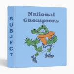 Carpeta nacional del cocodrilo de Chompions