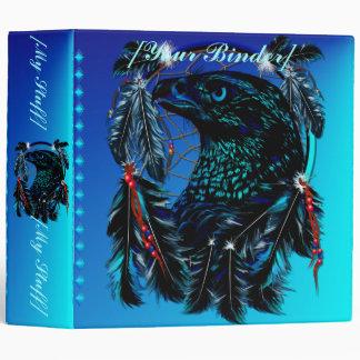 Carpeta negra de Eagle Dreamcatcher Avery