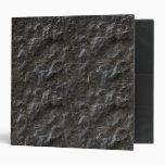 Carpeta negra de la roca