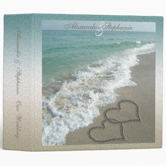 Carpeta o planificador del álbum del boda del dest