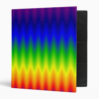 Carpeta - onda del arco iris