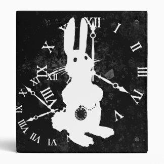 Carpeta oscura del conejo de Alicia última