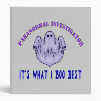 Carpeta paranormal del investigador