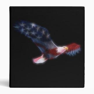 Carpeta patriótica calva de Eagle del fractal