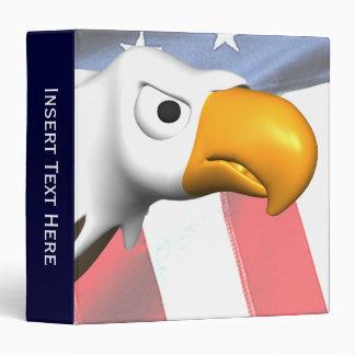 Carpeta patriótica de Eagle calvo Avery