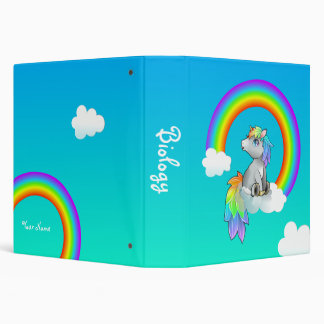 Carpeta personalizada arco iris del deseo del