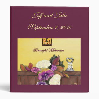 Carpeta personalizada boda del otoño