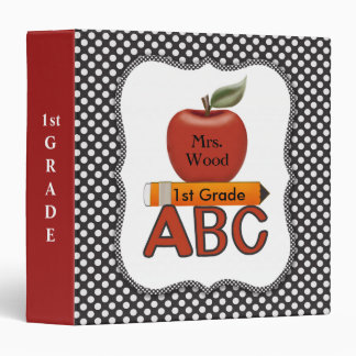 Carpeta personalizada de ABC del profesor