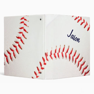 Carpeta personalizada del béisbol