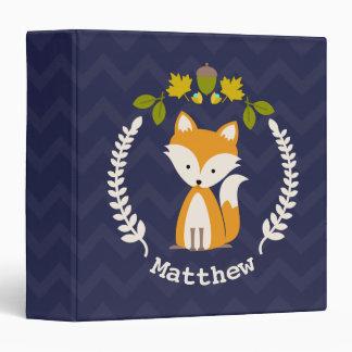 Carpeta personalizada del Fox del bebé