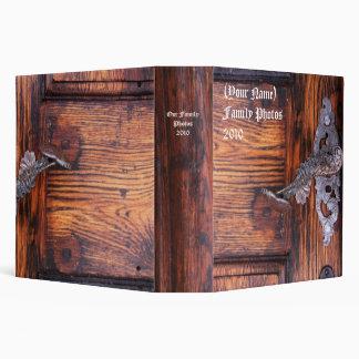 Carpeta personalizada puerta del álbum de foto del