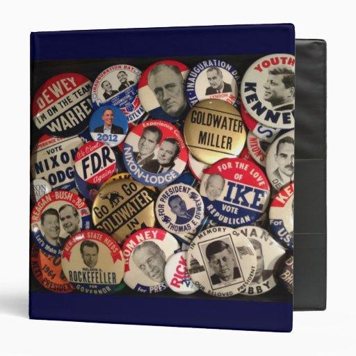 Carpeta política del botón