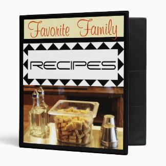 Carpeta preferida de la receta de la familia