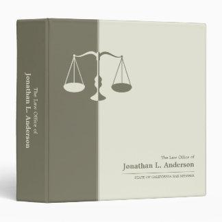 Carpeta procurador abogado del negocio
