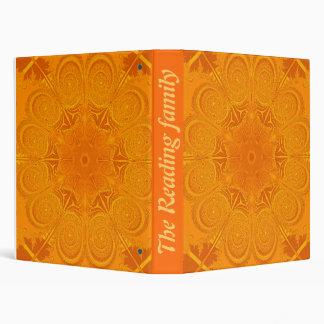 carpeta provencal anaranjada
