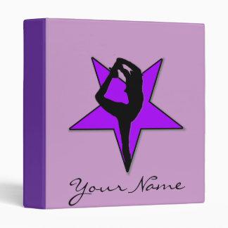 Carpeta púrpura de Avery de la animadora