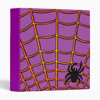 Carpeta púrpura de Avery de la araña