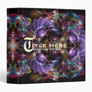 Carpeta púrpura de Avery de la fantasía del fracta