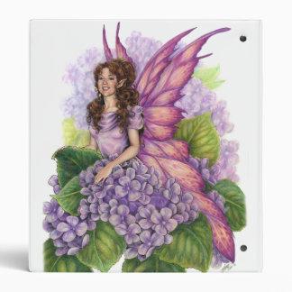 Carpeta púrpura de Avery del duendecillo