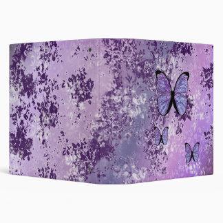Carpeta púrpura del Grunge