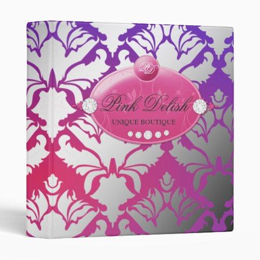 carpeta púrpura rosada de la resplandor de 311-Hot