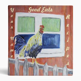 Carpeta - recetas - arte del gallo/del pollo