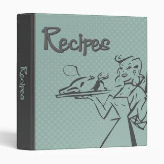 Carpeta retra de la receta