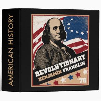 Carpeta revolucionaria americana de Benjamin