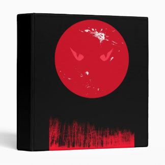 Carpeta roja de la luna