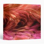 Carpeta roja de mármol del fractal
