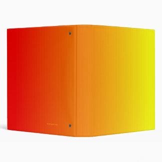 Carpeta roja del naranja y del amarillo