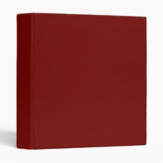 Carpeta roja marrón de Burgendy