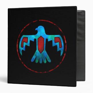 Carpeta roja y azul de Thunderbird
