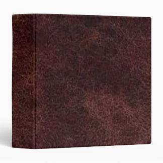 Carpeta rojo marrón de Avery