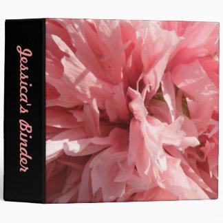 Carpeta rosada bonita del personalizado de la amap