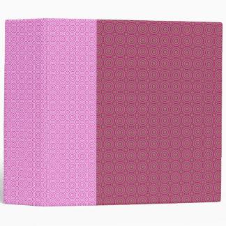 Carpeta rosada de la curva de la mente