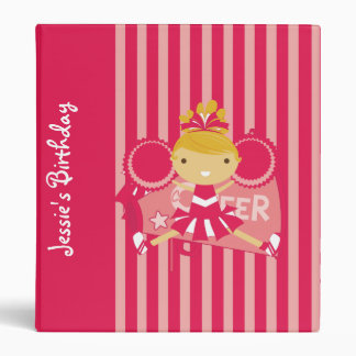 Carpeta rosada del álbum del cumpleaños de la