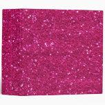 Carpeta rosada del brillo