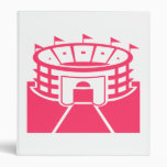 Carpeta rosada del estadio