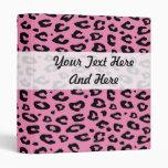 Carpeta rosada el | Personalizable del estampado