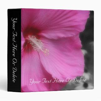 Carpeta rosada macra de la naturaleza de la flor d